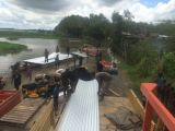 Loading the Pontoon